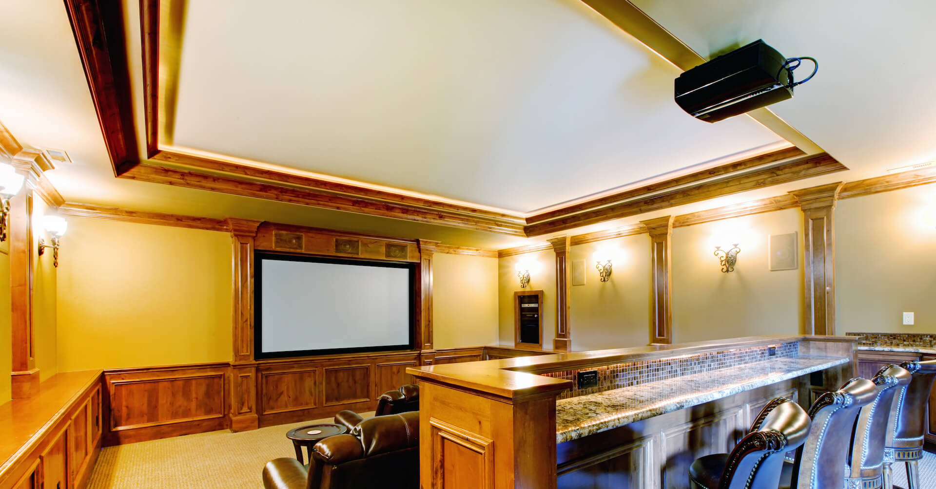 TV Mounting and Home Theater Installation 4